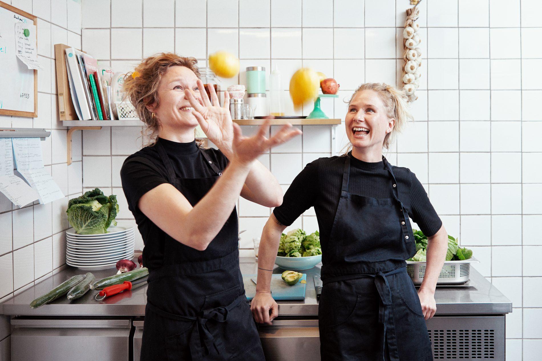 Johanne Broennum Inez Hunaeus chefs food gastronomy